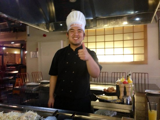 Wasabi Tepanyaki: Chef