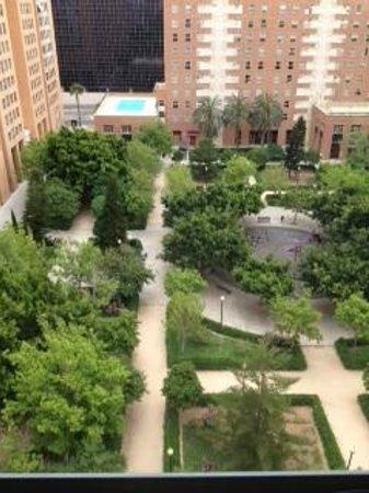 NH Valencia Las Artes: Vista desde nuestra habitación