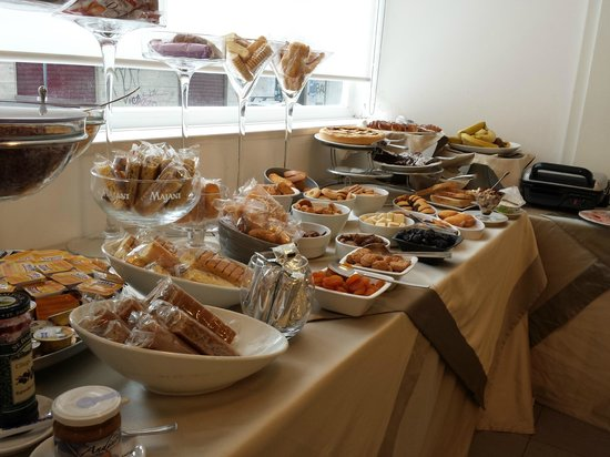 Hotel Palace: Breakfast buffet