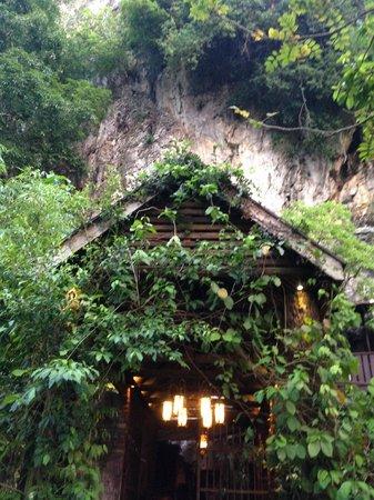 The Banjaran Hotsprings Retreat: Outside of the cellar