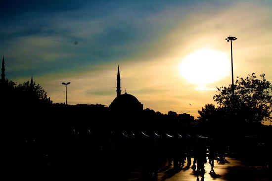 Blue Istanbul Hotel: landscape