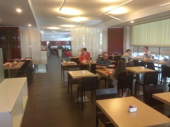 B&B Hotel Trento: Sala colazione