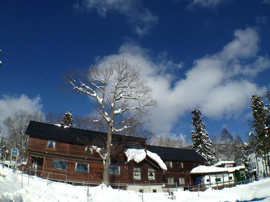 Hakuba Windy Lodge: 冬の晴れ間