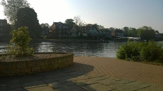 The Thames Riviera Hotel: From bench outside