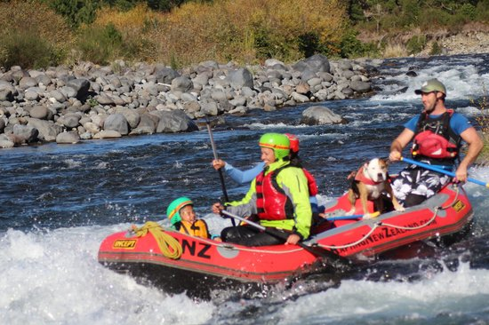 Rafting New Zealand: All wet!