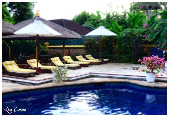 The Watergarden Hotel & Spa : Pool area
