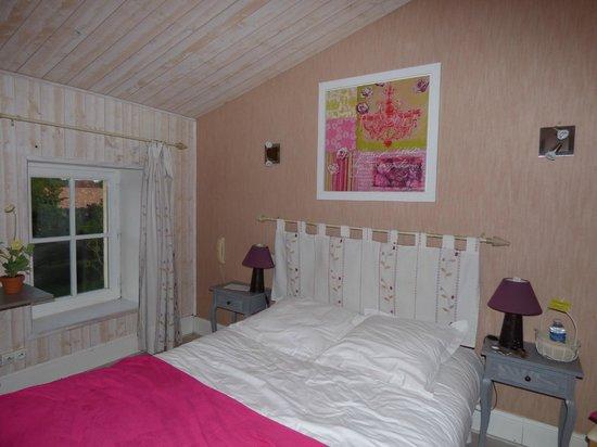 Domaine du Prieure : La chambre