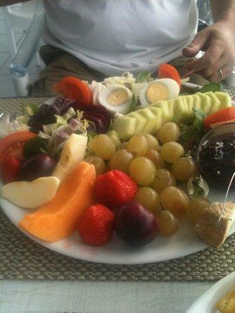 Le Zahir : Méga assiette repas