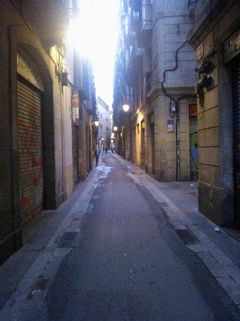 Hostal Baires: street view