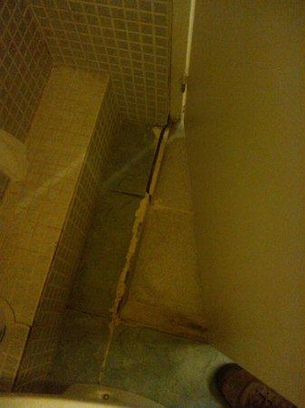 Hostal Baires: bathroom floor
