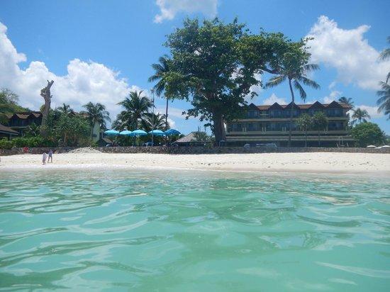 Phuket Marriott Resort & Spa, Merlin Beach: view from the water