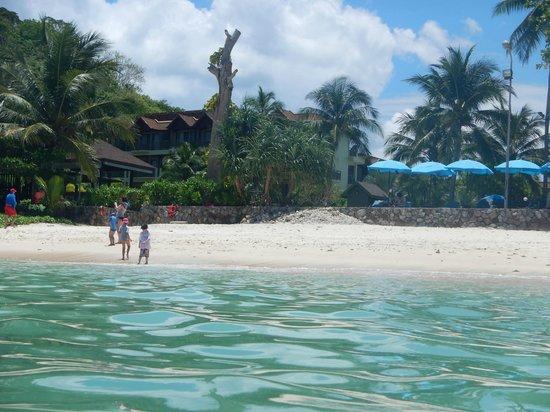Phuket Marriott Resort & Spa, Merlin Beach : View from the Water