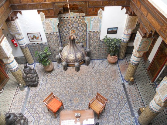 Palais Sebban: atrio