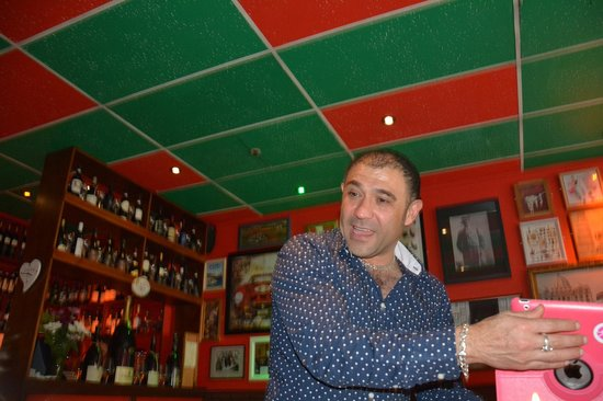 Little Italy: Bruno. The best host ever.