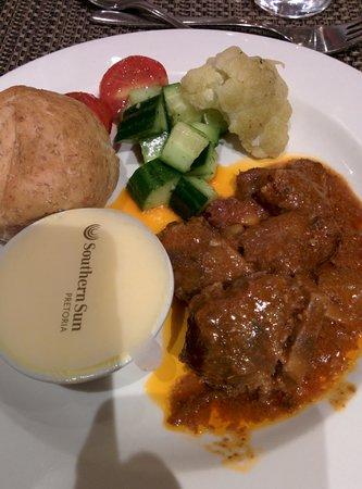 Southern Sun Pretoria: Dinner...