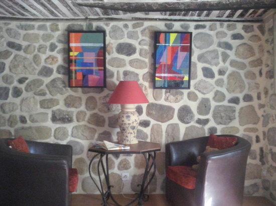 Le Mas de Beauplan : salon Isabel room