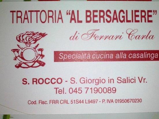 Sona, อิตาลี: bigliettino
