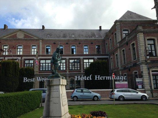 Best Western Hotel Hermitage: Front of Hotel
