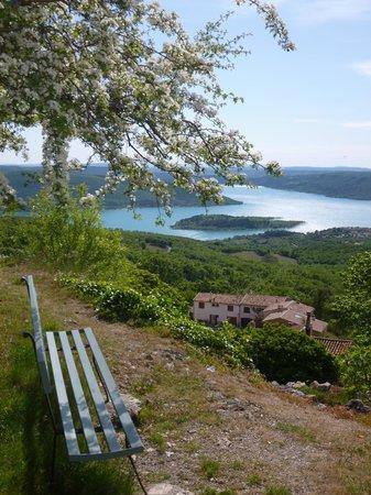 Camping de l'Aigle : Point de vue conseillé par le camping