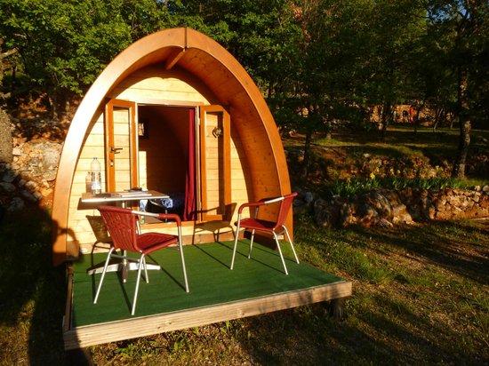Camping de l'Aigle : Notre pod