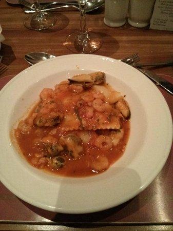 Oceana Restaurant: Ravioli con un po' di tutto