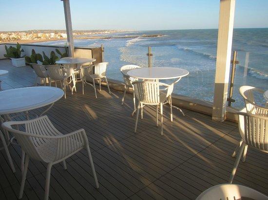 Acquamarina Hotel: Breakfast terrace