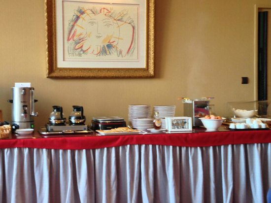 Best Western Hotel Hermitage : Breakfast Buffet