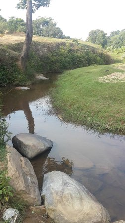 Stream .. ten minutes walk from Mugilu