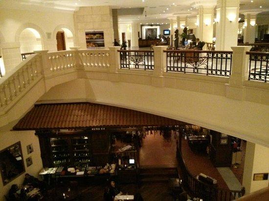 Oceana Restaurant: VIsta dall'alto