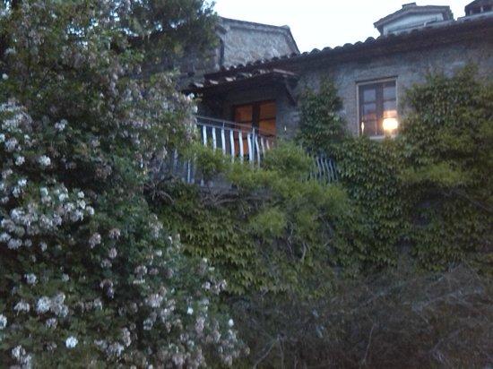 Agriturismo Ca de Carlicchi: Casa di sopra vista da sotto