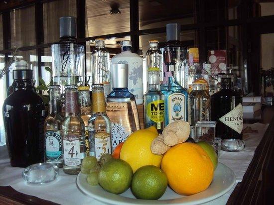 Restaurante Alfoz: Selecção Gin sem Igual