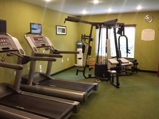 Fairfield Inn & Suites Portland Airport: Gym room. Nice and accommodating