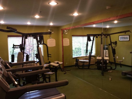 Fairfield Inn & Suites Portland Airport: Gym