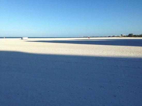 Pointe Estero Beach Resort: Beach in the morning sun