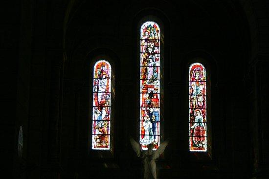Vetrate interne   picture of basilica du sacre coeur de montmartre ...