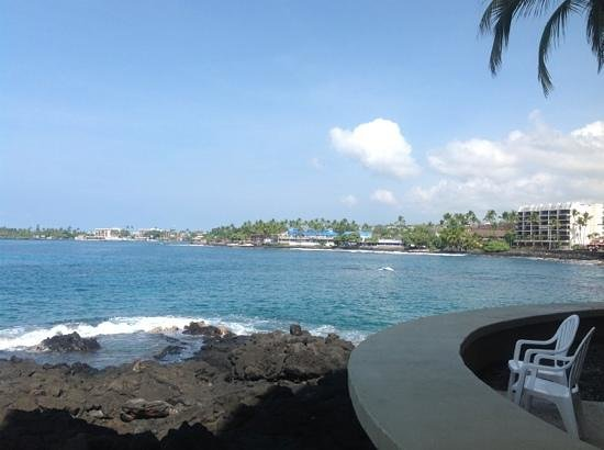 Royal Kona Resort: how close you are to the water