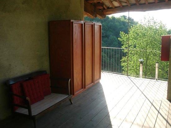 Casa Payer: Balcone
