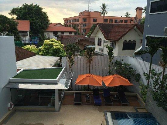 Aspira Prime Patong : Salle de fitness en bas à gauche