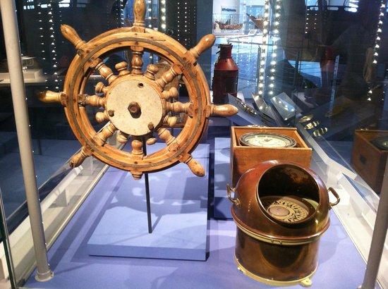 Maritime Museum: Штурвал