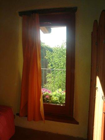 Casa Payer: vista dalla finestra dell'appartamento