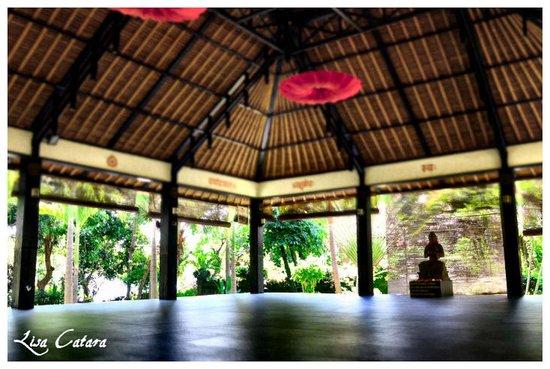 Zen Resort Bali: The yoga and meditation area