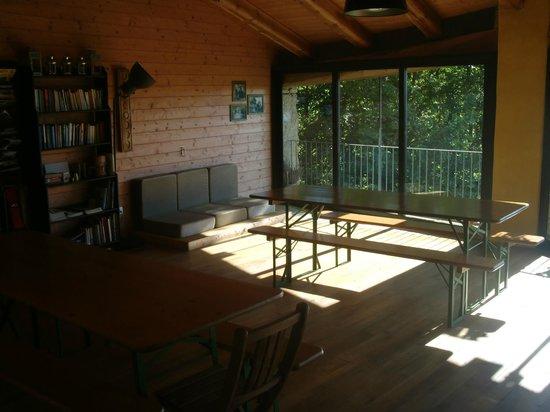 Casa Payer: sala lettura