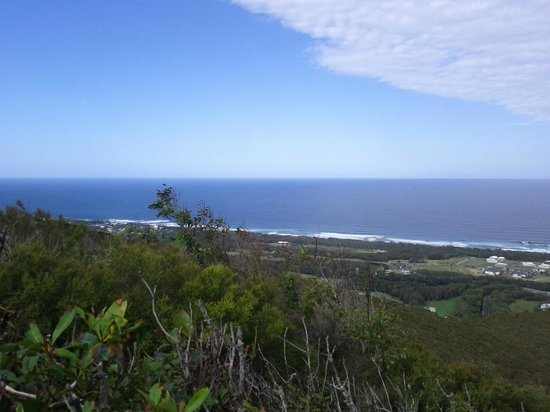 Mount Coolum: View directly out to sea.
