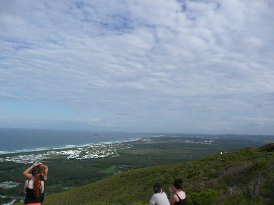 Mount Coolum: View to the south.