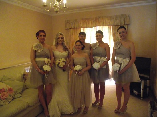 The Parkway Hotel & Spa: bridesmaids