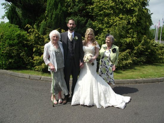 The Parkway Hotel & Spa: wedding day
