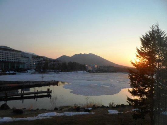 Hotel Akankoso : Setting sun