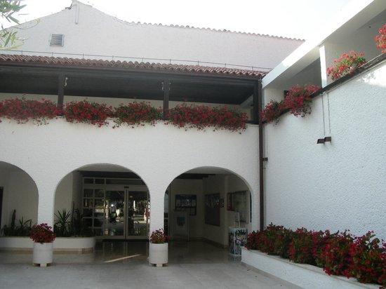 Villa Laguna Galijot : Вход в ресторан отеля