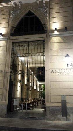 Hospes Amerigo: facade de l'hôtel