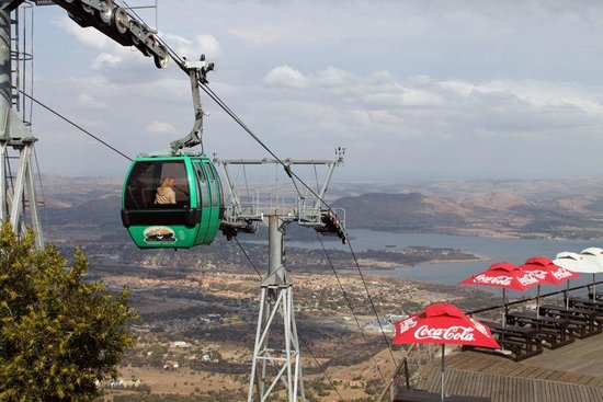 Ulysses Tours and Transfers: Harties Cable Way - North west Province, South Africa